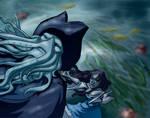 Davy Jones, Calypso: Falling