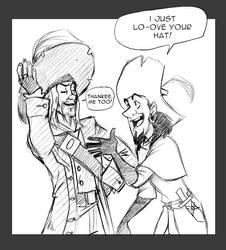 Clopin,Barbossa: Shared Love