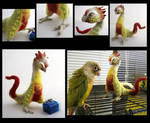 Pineapple Green Cheek Dragon Hawk