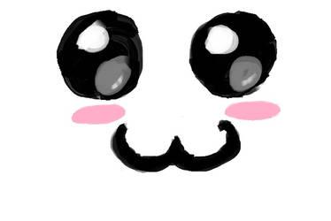 Kawaii face by The-Anime-Girl
