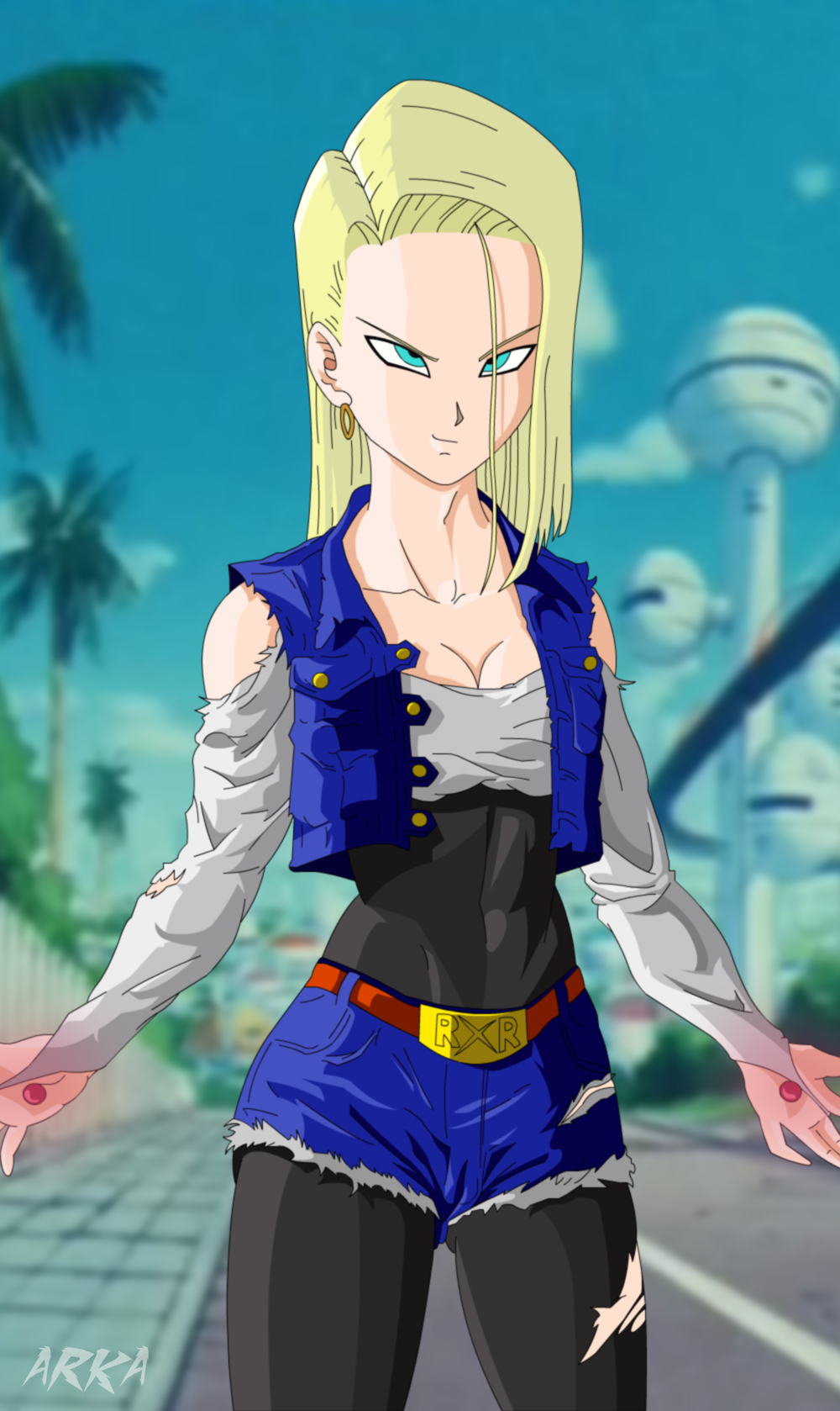 Super androide 18 super android 18 by cffc2010 on deviantart - Dragon ball z c18 ...