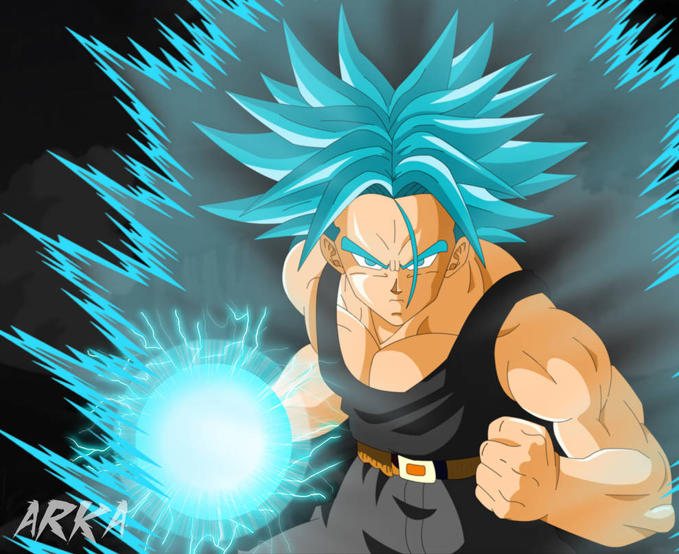 Trunks SSGSS - Super Saiyajin Azul by CFFC2010