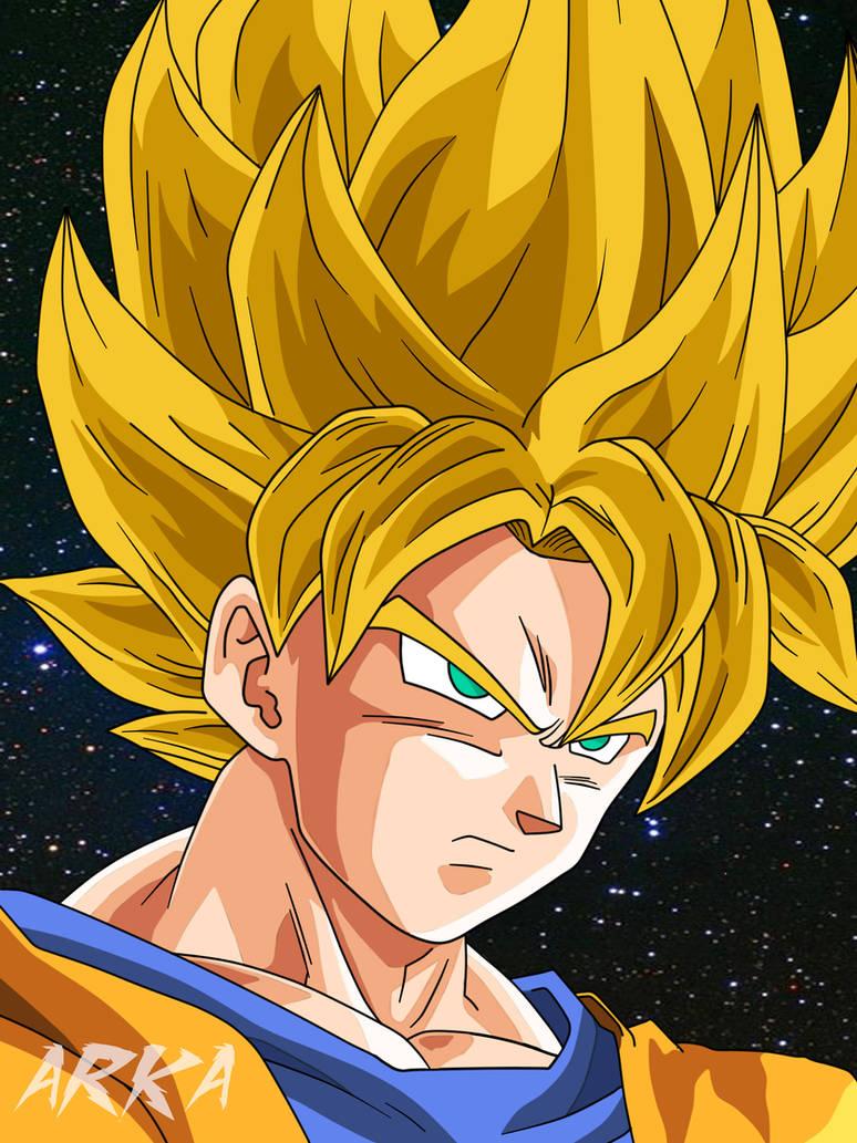 Goku Super Saiyan - Super Saiyajin by CFFC2010