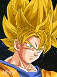 Goku Super Saiyan - Super Saiyajin