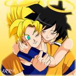 Goku y Gine (Goku and Gine)