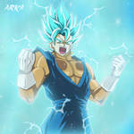 Vegetto Super Saiyan Blue - Super Saiyajin Azul