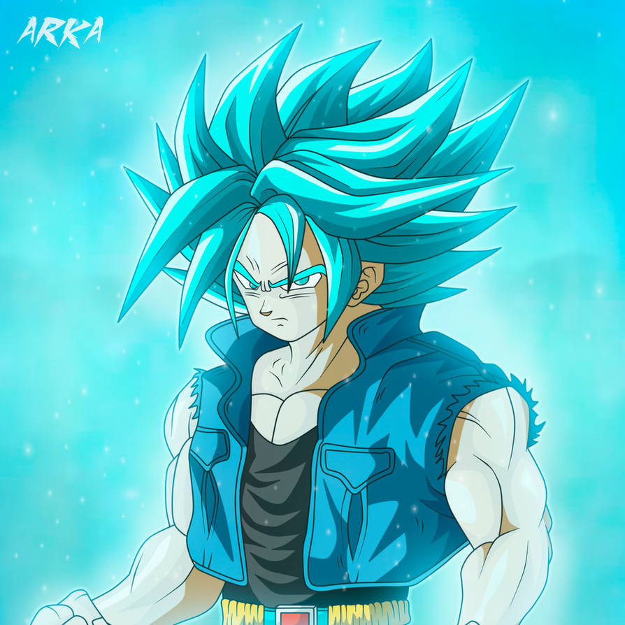 Trunks Super Saiyan Blue - Super Saiyajin Azul by CFFC2010