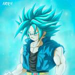 Trunks Super Saiyan Blue - Super Saiyajin Azul