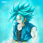 Trunks Super Saiyan Blue - Super Saiyajin Azul