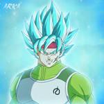 Bardock Super Saiyan Blue - Super Saiyajin Azul