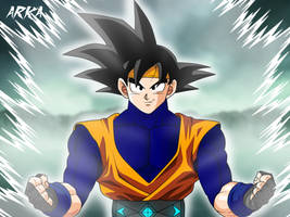 Goku Jr Dragon Ball Generations by CFFC2010