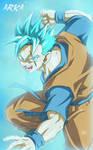 Mirai Gohan SSGSS - Super Saiyan Blue