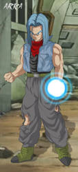 Mirai Trunks Dragon Ball Super by CFFC2010