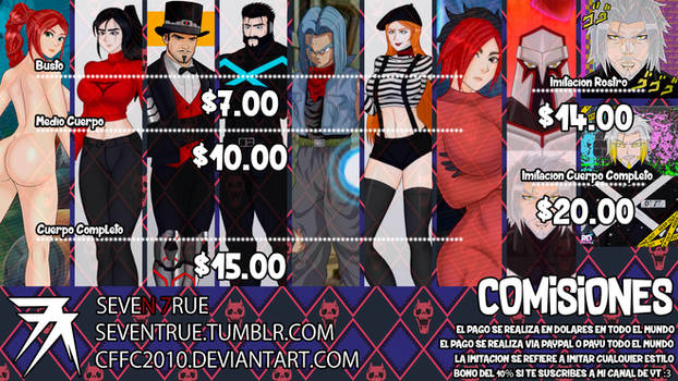 Commissions Open :3