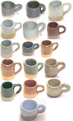 16 Doll Mugs