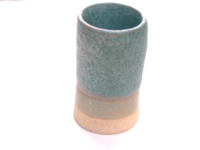 Gusto Shino - Oribe Cylinder