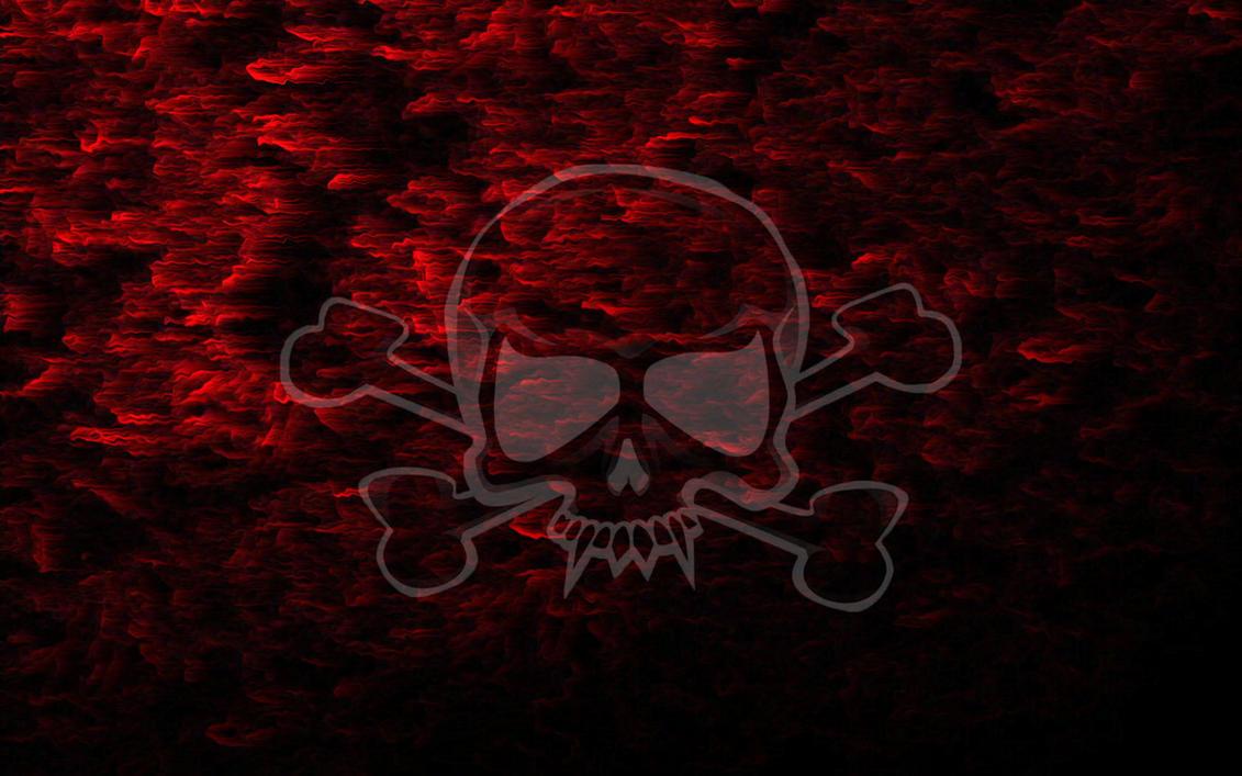 Red Smoke Skull Wallpaper By Finnegane