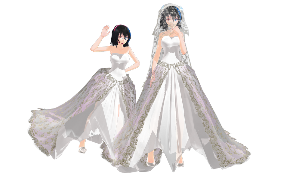Tda Yokune Ruko Wedding Dress Wip By Palcario On Deviantart
