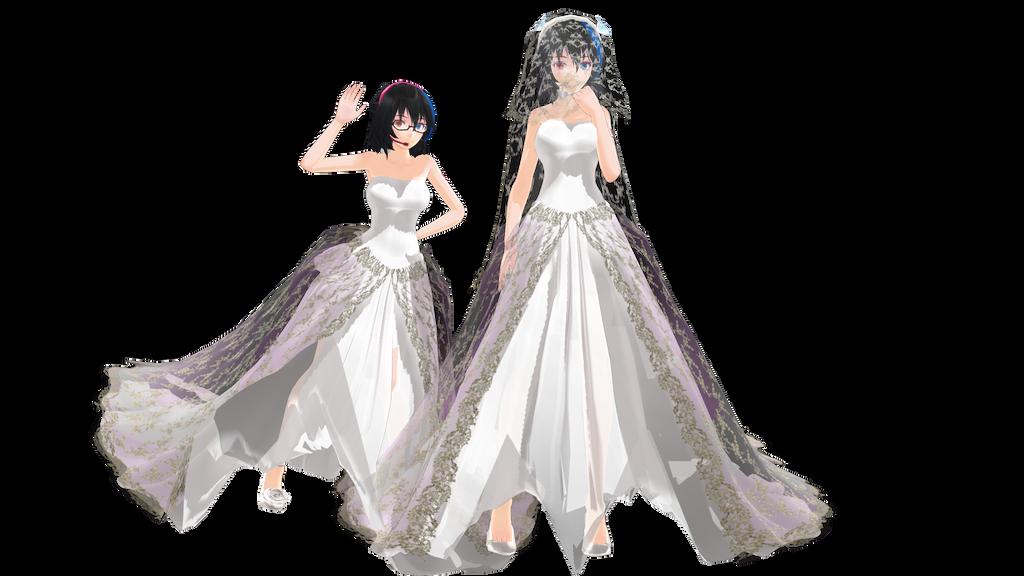 Mmd wedding