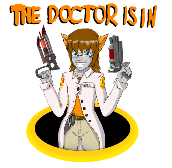 The Doctor Is In TF2 Spray By Neturi On DeviantArt