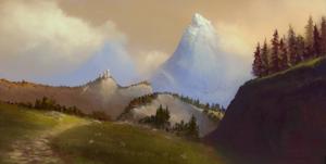 Across Middle-Earth - Eregion by ralphdamiani