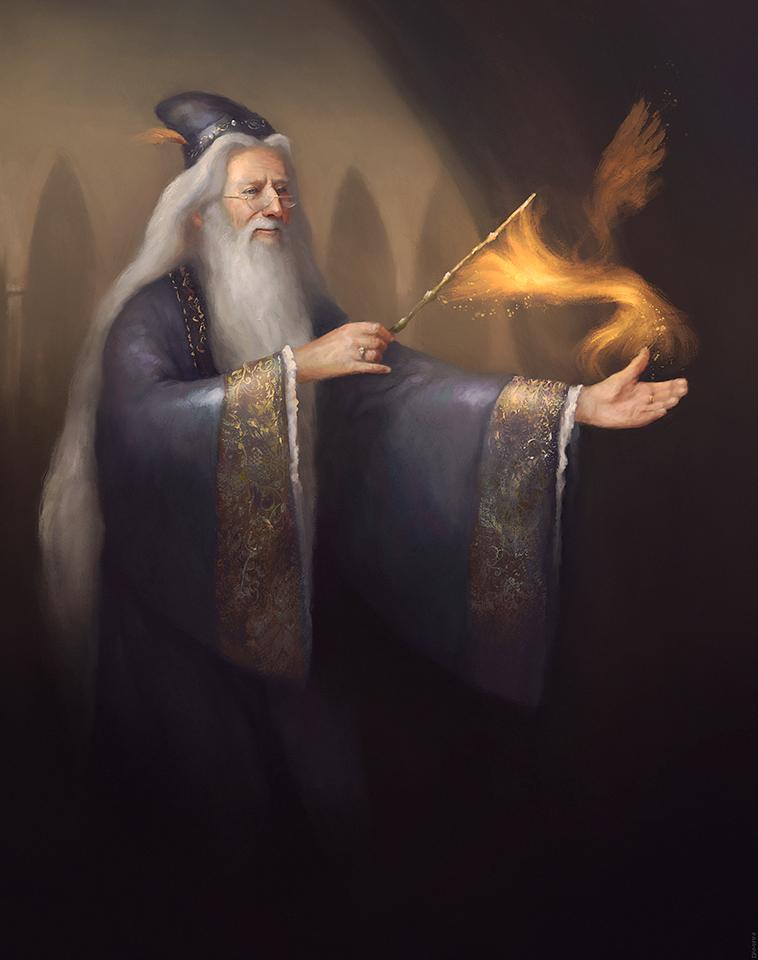 Albus Percival Wulfric Brian Dumbledore by ralphdamiani