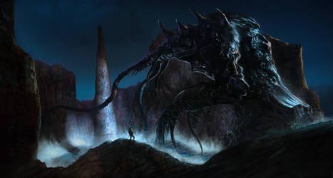 Dagon by ralphdamiani