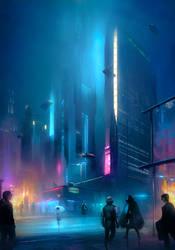 Financial District by ralphdamiani
