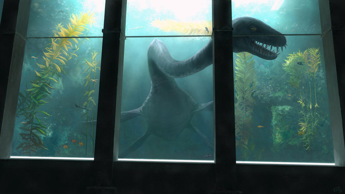 le lac tueur - documentaire - Nessie_by_RalphD
