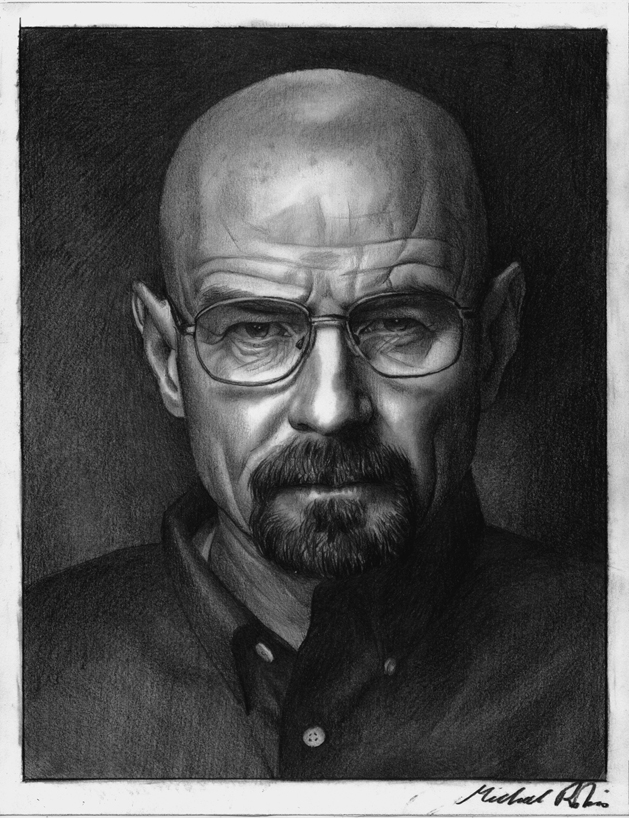 Walter White by MikeRobinsArt