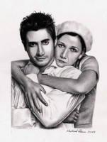 Jake + Maggie Gyllenhaal by MikeRobinsArt