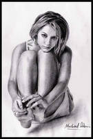 Claire Danes 3 by MikeRobinsArt