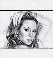 Mariah Carey by MikeRobinsArt