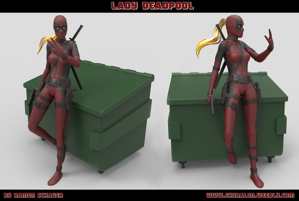 Lady Deadpool 02 by Shyralon