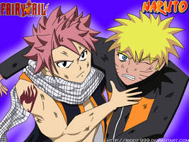 Team UP (Crossover: Naruto, Fairy Tail) by Riddif999