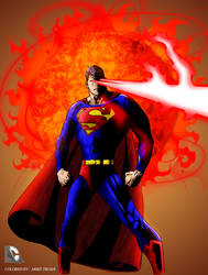 SUPERMAN THE LASER MAN