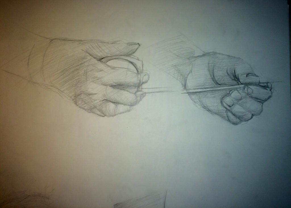 Hand Study by FROIDone
