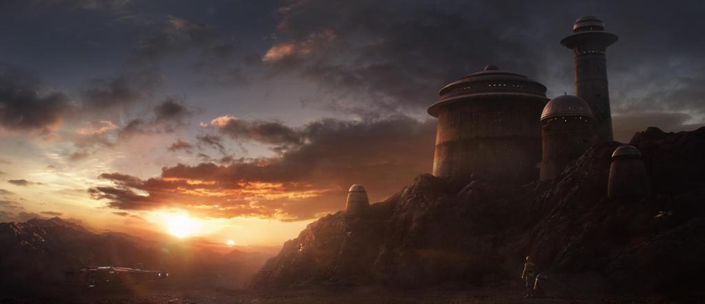 Hutt Castle on Tatooine