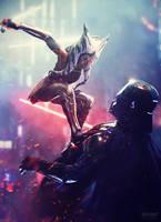 I am no jedi - Ahsoka Tano vs Vader