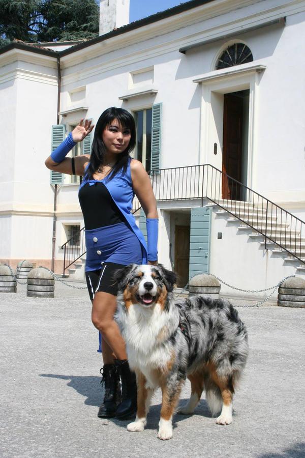 Rinoa and Angelo by Sunymao