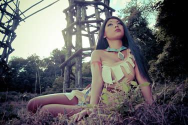 Pocahontas sunset by Sunymao