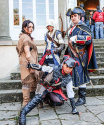 Kenway Family plus Aveline by Sunymao