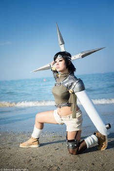 Me as Yuffie