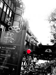 balloon and bubbles by Interdicted