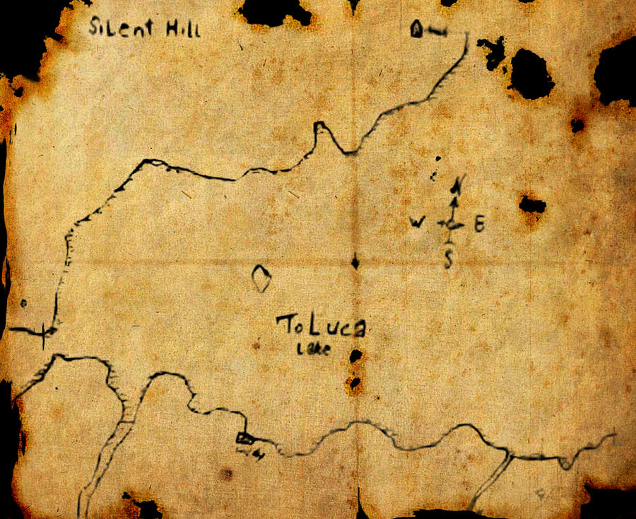 Toluca lake old map by AbstracktBlack on DeviantArt