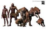 Human-to hyena