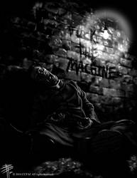 Fuck the Machine by BPuig