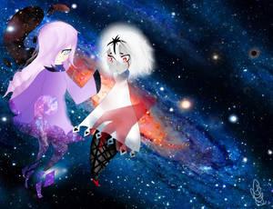 Fanart Delta (character by Expie-OC) and Akemi