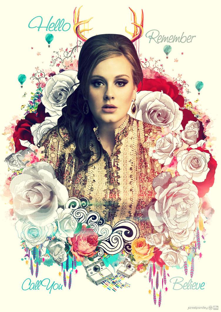 Adele Hello By Jizchuckz by jizchuckZ