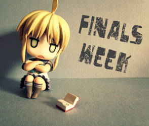 Finals Week by LonelyEmo